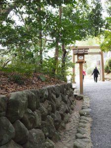 葭原神社(皇大神宮末社)付近