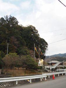 辰水神社付近(津市美里町家所)