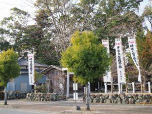 伊勢上座蛭子社(坂社)の参道入口付近
