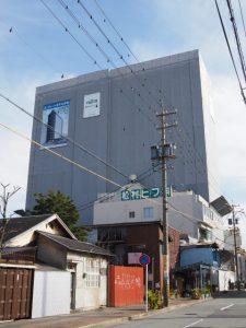 伊勢駅前商店街付近