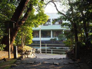河原淵神社(豊受大神宮 摂社)の社窓