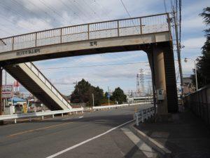 県道629号 宝町の歩道橋