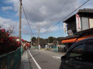 海山道神社へ(四日市市海山道町)