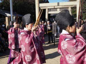 狐の嫁入り道中行列(海山道神社)