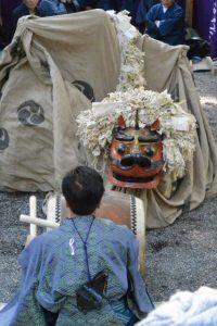 南中村区獅子神楽(一之瀬神社)