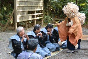 市場区獅子神楽(一之瀬神社)