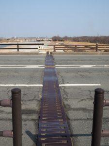 宮川に架かる度会橋で気になっていた場所