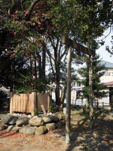 城田神社遙拝所(伊勢市川端町)