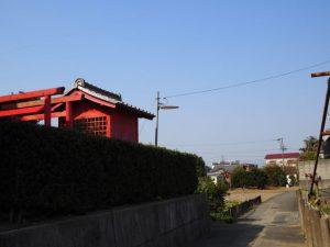 地蔵院の稲荷社(伊勢市川端町)