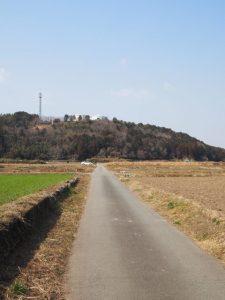 岩出遺跡群 ケカノ辻・角垣内地区調査区方向(玉城町岩出)