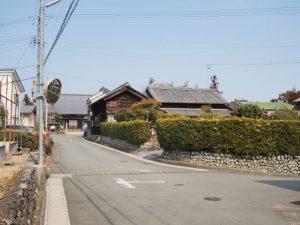 下外城田神社から宝泉寺へ(玉城町小社曽根)