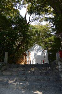 大修繕が続けられる河原淵神社(豊受大神宮 摂社)