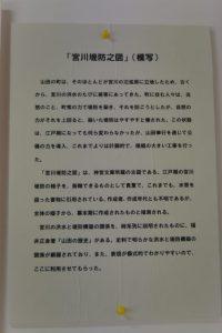 宮川堤防之図の説明