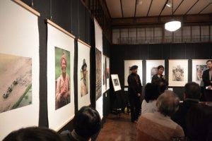 ペルナッカ スダカラン作品展ギャラリートーク(伊勢和紙ギャラリー)