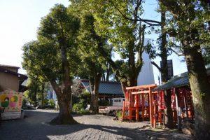 本殿が姿を消していた世木神社(伊勢市吹上)