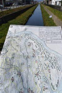 厚生第一橋から望む小柳川の上流方向
