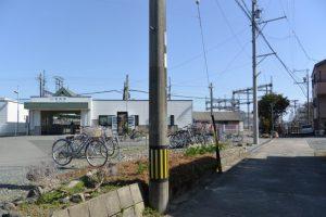 近鉄山田線 宮町駅付近