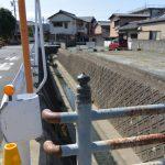 小河橋から望む小太郎池跡方向