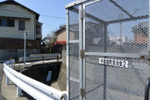 小柳川の始まり(小太郎池からの出口)付近