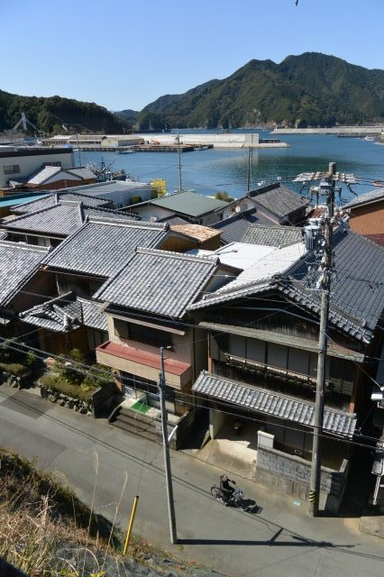 金蔵寺からの眺め(度会郡大紀町錦)