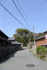 宇須乃野神社(豊受大神宮 摂社)付近