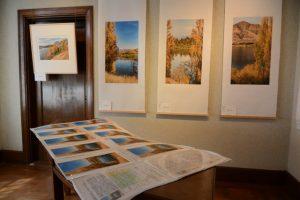 新製品企画展『眺望』富士と湖畔(伊勢和紙ギャラリー)