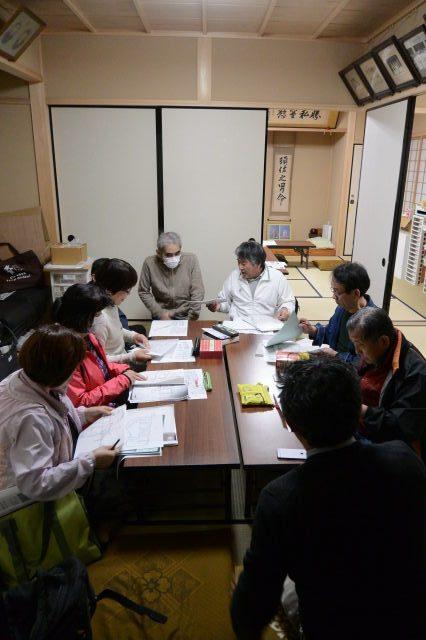 古文書の会 くずし字勉強会(2018.04.07)@河邊七種神社社務所