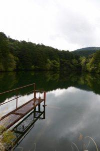 津布良神社(皇大神宮 末社)付近のため池
