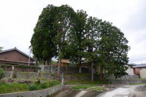 宮建ちを終えた片野八柱神社(多気郡多気町片野)
