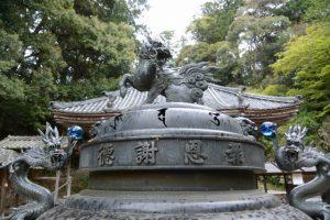 丹生山神宮寺での散策(多気郡多気町丹生)