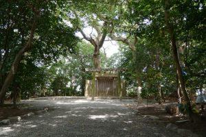 河原神社(豊受大神宮 摂社)、毛理神社(同摂社)を同座