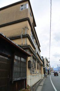 井阪長七商店解体前の史料調査(伊勢市河崎)
