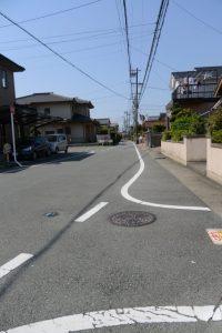 暁の星幼稚園付近〜雷電神社(伊勢市小俣町本町)