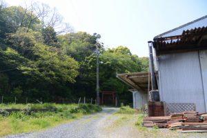高松稲荷付近(伊勢市二見町茶屋)