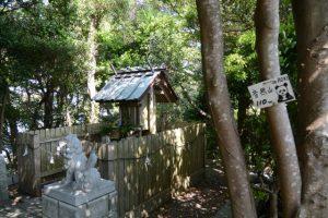 音成神社(音無山山頂付近)