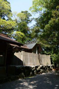 栄野神社の本殿(伊勢市二見町江)