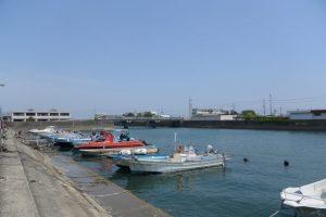 江漁港(伊勢市二見町江)