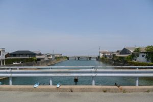 日の出橋(五十鈴川派川)