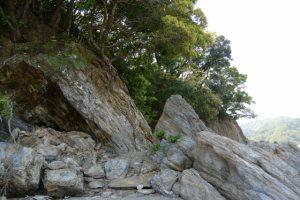 旅荘 海の蝶 プライベートビーチ〜粟皇子神社