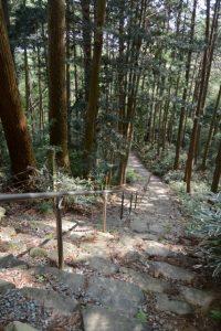 霊水観音から梅香寺 旧跡の石碑へ