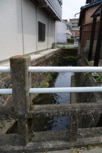天神橋(清川)付近
