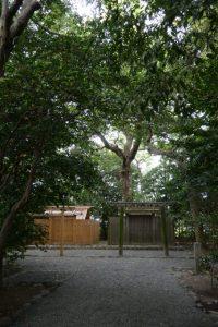 大修繕を待つ河原神社(豊受大神宮 摂社)