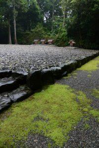 神服織機殿神社(皇大神宮所管社)にて福井水路に思いを馳せる