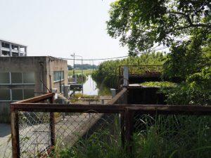 西排水機場付近(伊勢市二見町西)