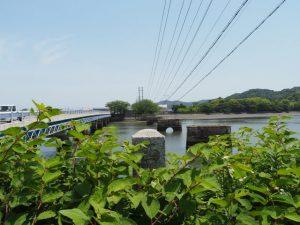 汐合橋(五十鈴川)を振り返って