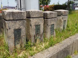 旧清浄坊橋の親柱