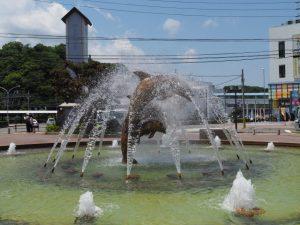 佐田浜東公園の噴水(鳥羽市)