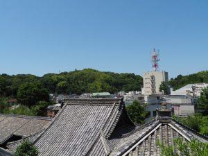 光岳寺にて(鳥羽市)