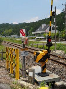 JR名松線 奥津踏切