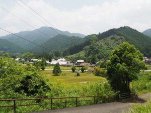 宗福寺からの風景(津市美杉町奥津)